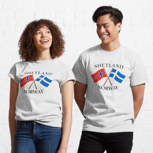 Shetland-Norway-classic-t-shirt